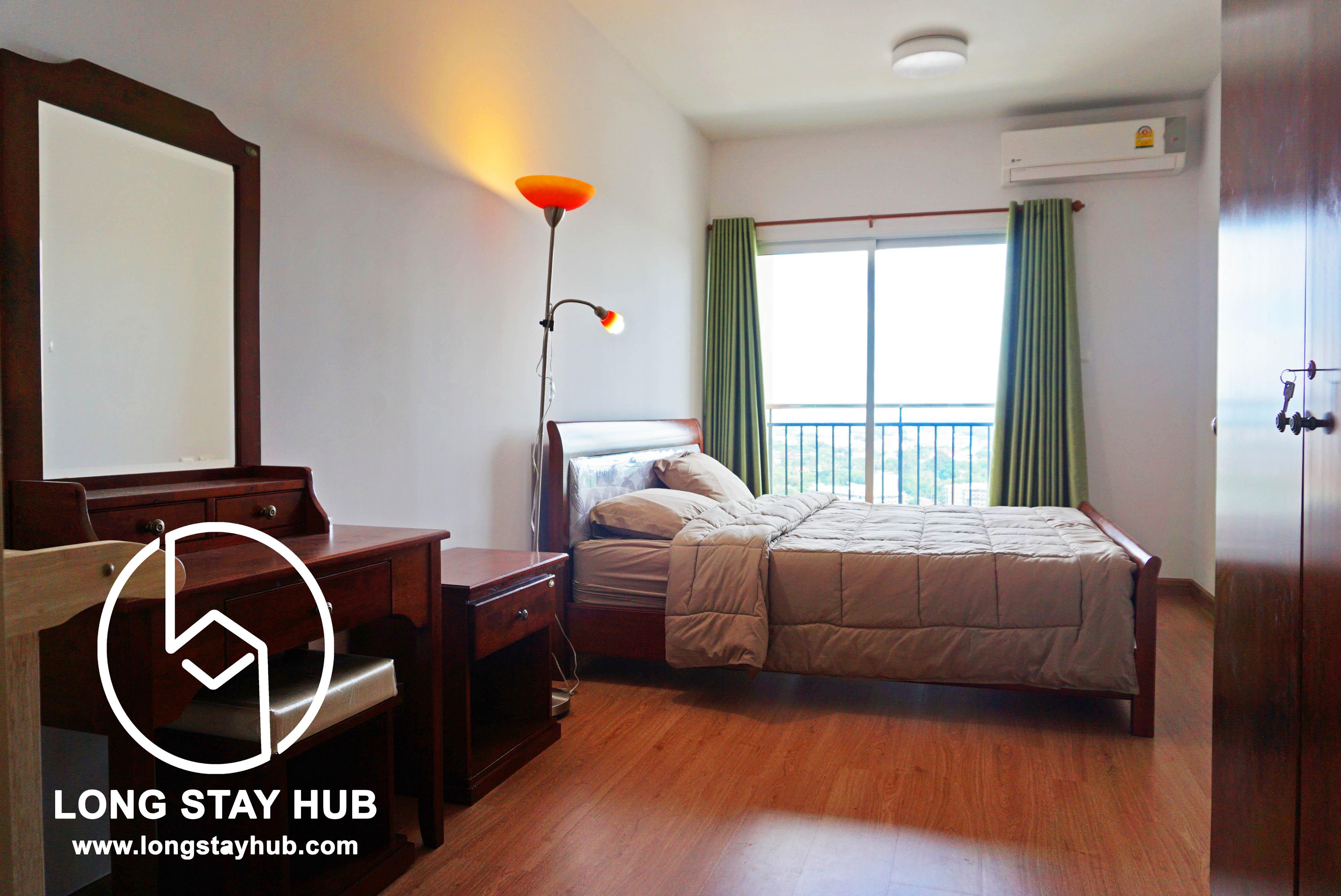 Rented 1 Bedroom Supalai Monte Condominium Near Central Festival