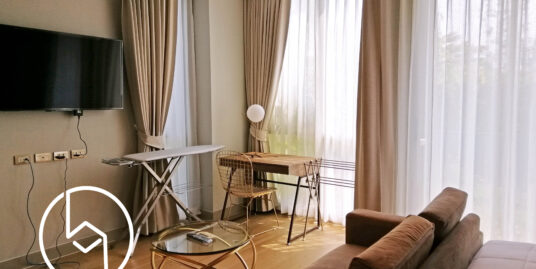 Deluxe Studio fully furnished for rent At Hilltania Condominium