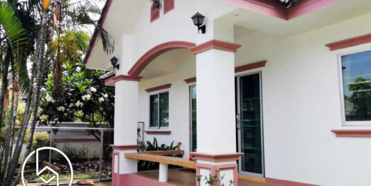 [Rented] The one-storey garden house, pet friendly with quiet area near Meechoke Plaza and HomePro