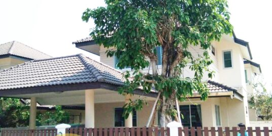 New two-storey detached house at Cattleya Sansai village