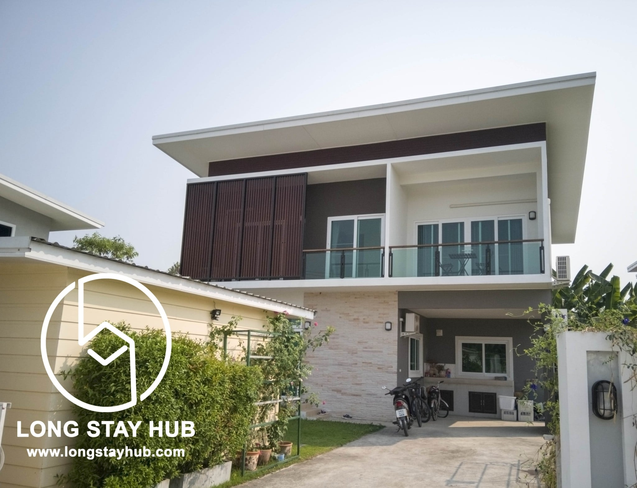 Modern 3 bedroom house For rent with Private Swimming pool ...