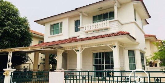 Fully furnished Two-storey detached house for sale at Siwalee Village on canal road