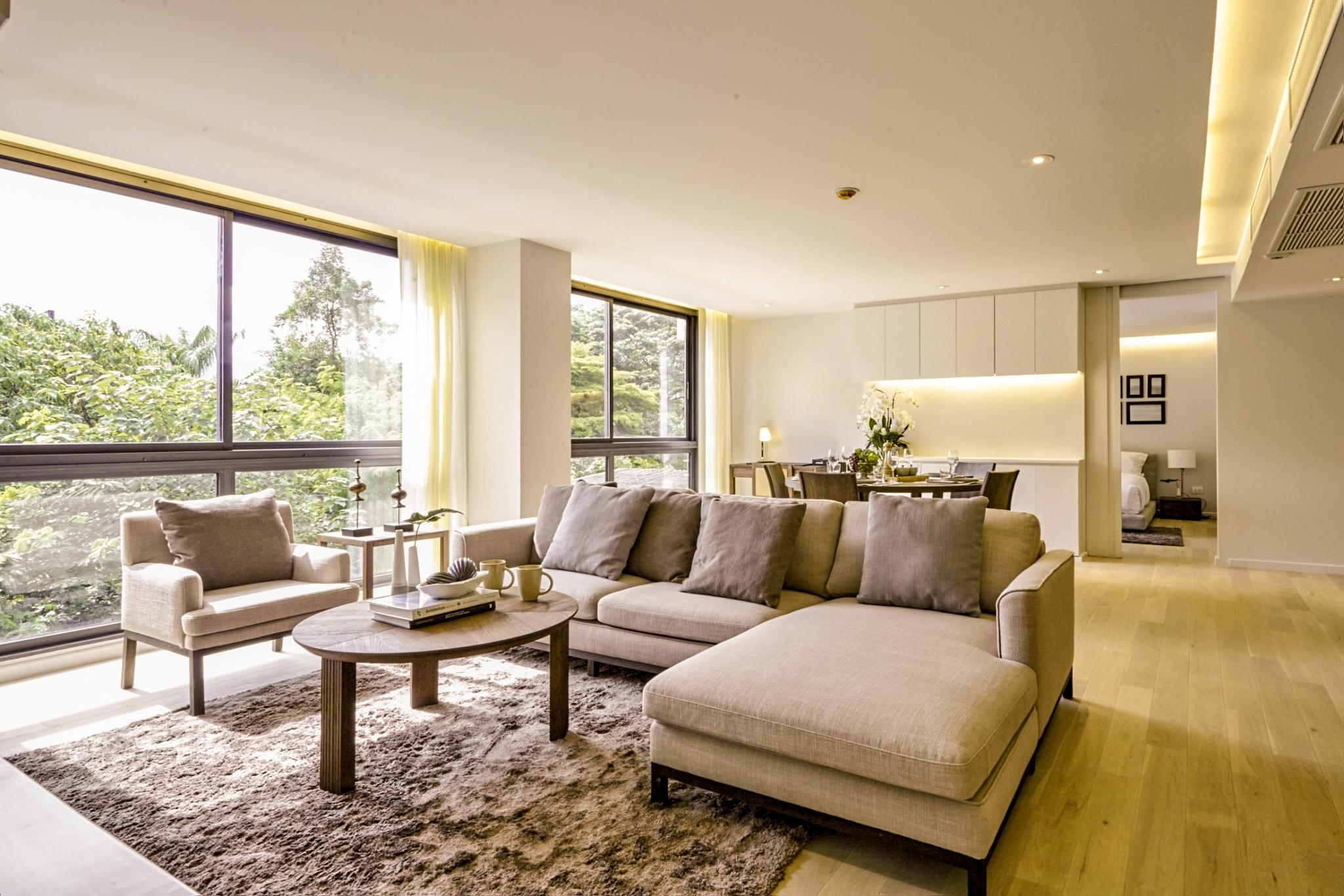 Luxury Fully Furnished 2 Bedroom In Peaks Avenue Condominium