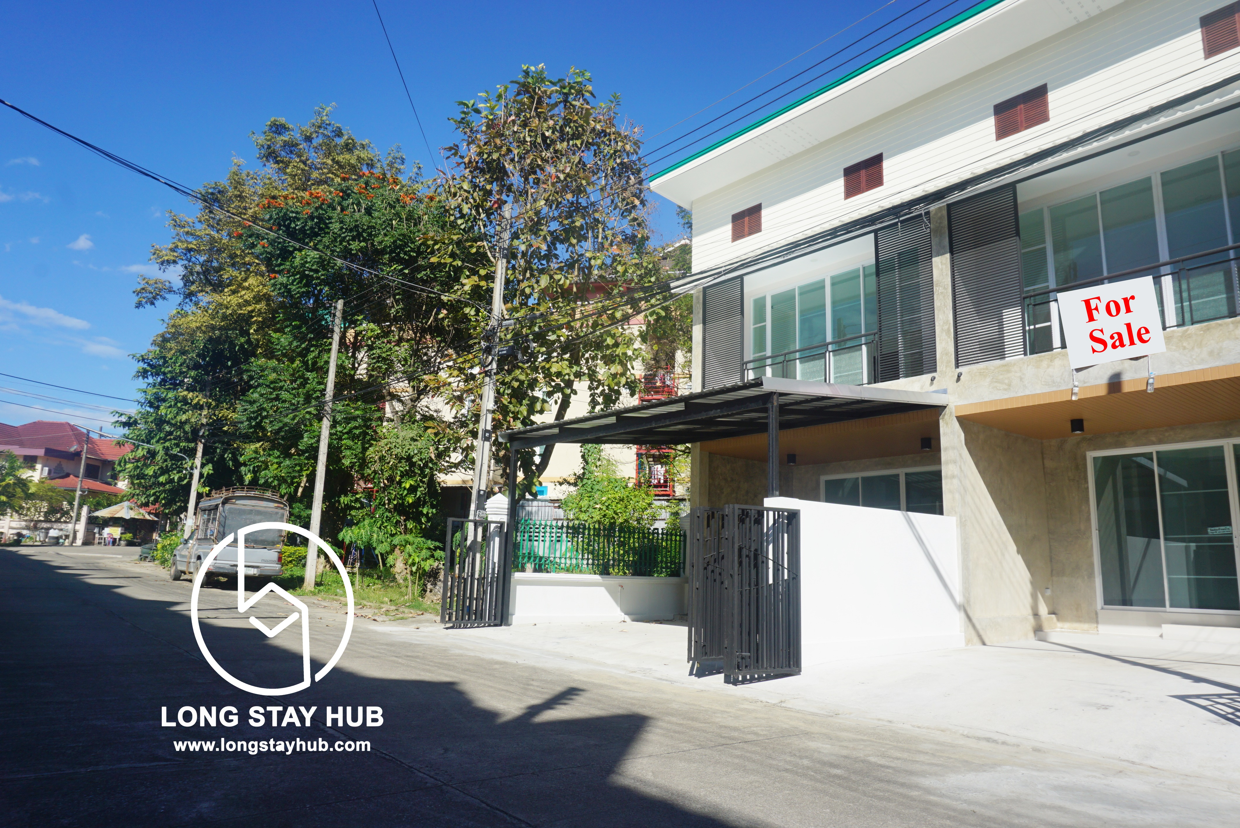 2 Storey Twins home  for sale near Chiang Mai University