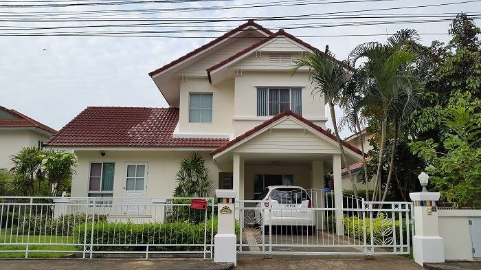 [Rented]2-bedrooms house with beautiful garden at Land & House Mae Jo