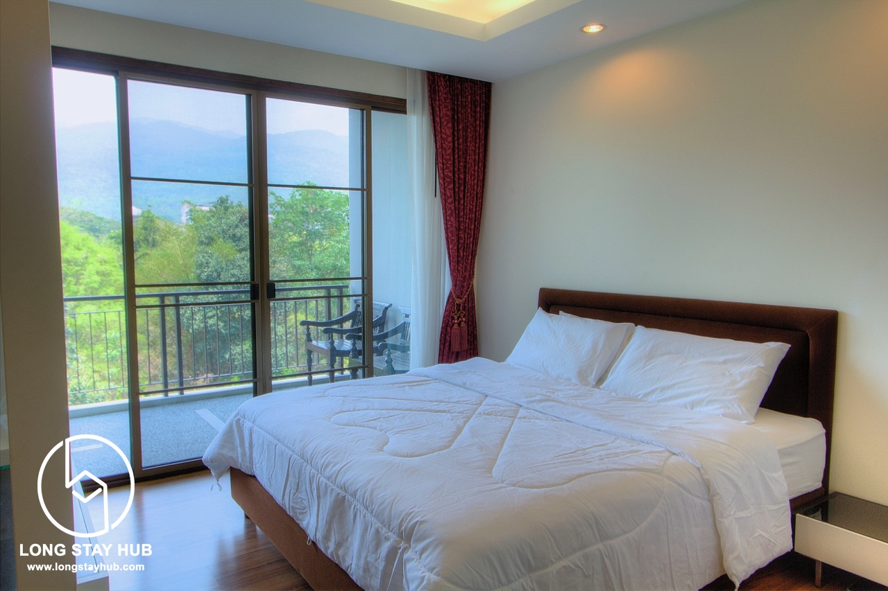 1 bedroom with spacious area at Mountain Front Condominum Chiang Mai