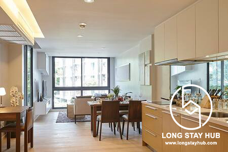 Peaceful Location Fully Furnished 1 Bedroom in Peaks Avenue Condominium